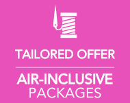 <b>AIR-INCLUSIVE PACKAGES</b>