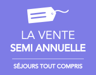 VENTE SEMI ANNUELLE DU CLUB MED