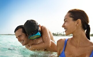 All-inclusive family resort in the Caribbean
