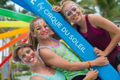 Club Med CREACTIVE by Cirque du Soleil painting