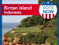 Bintan Island resort in Indonesia