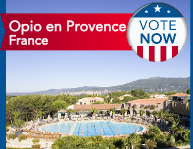 Opio en Provence resort in the South of France