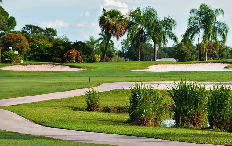 free green fees in Sandpiper Bay, Florida
