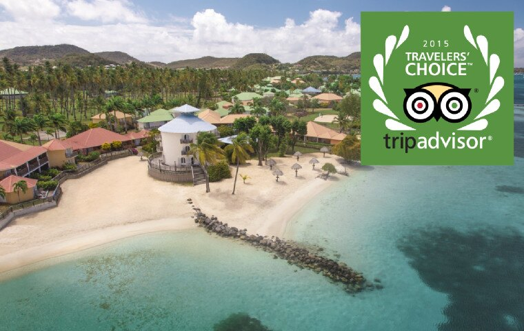 26 de nos destinations se sont vues attribuer le TripAdvisor's 2015 Traveler's Choice Award.