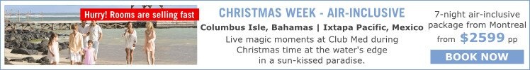 Christmas Week - Air-inclusive packages to Bahamas and Mexico