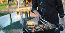 A barbecue prepared by a Chef in your Villa at Belek in Turkey*