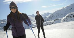 Cross-country skiing and snow shoes