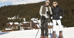 Our ski in ski out Resorts