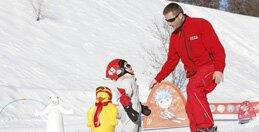 Voor kinderen van 3 jaar: cursus skiën*
