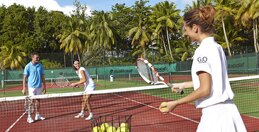 L'enseignement du tennis au Club Med