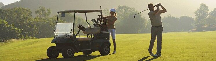 Servicios de golf en Club Med