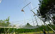 Flying Trapeze school