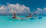 Transparent bottom kayak