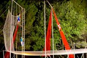 Flying Trapeze Academy with circus activities