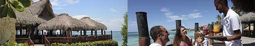 The Indigo Beach Lounge restaurant