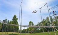 Flying Trapeze School with circus activities