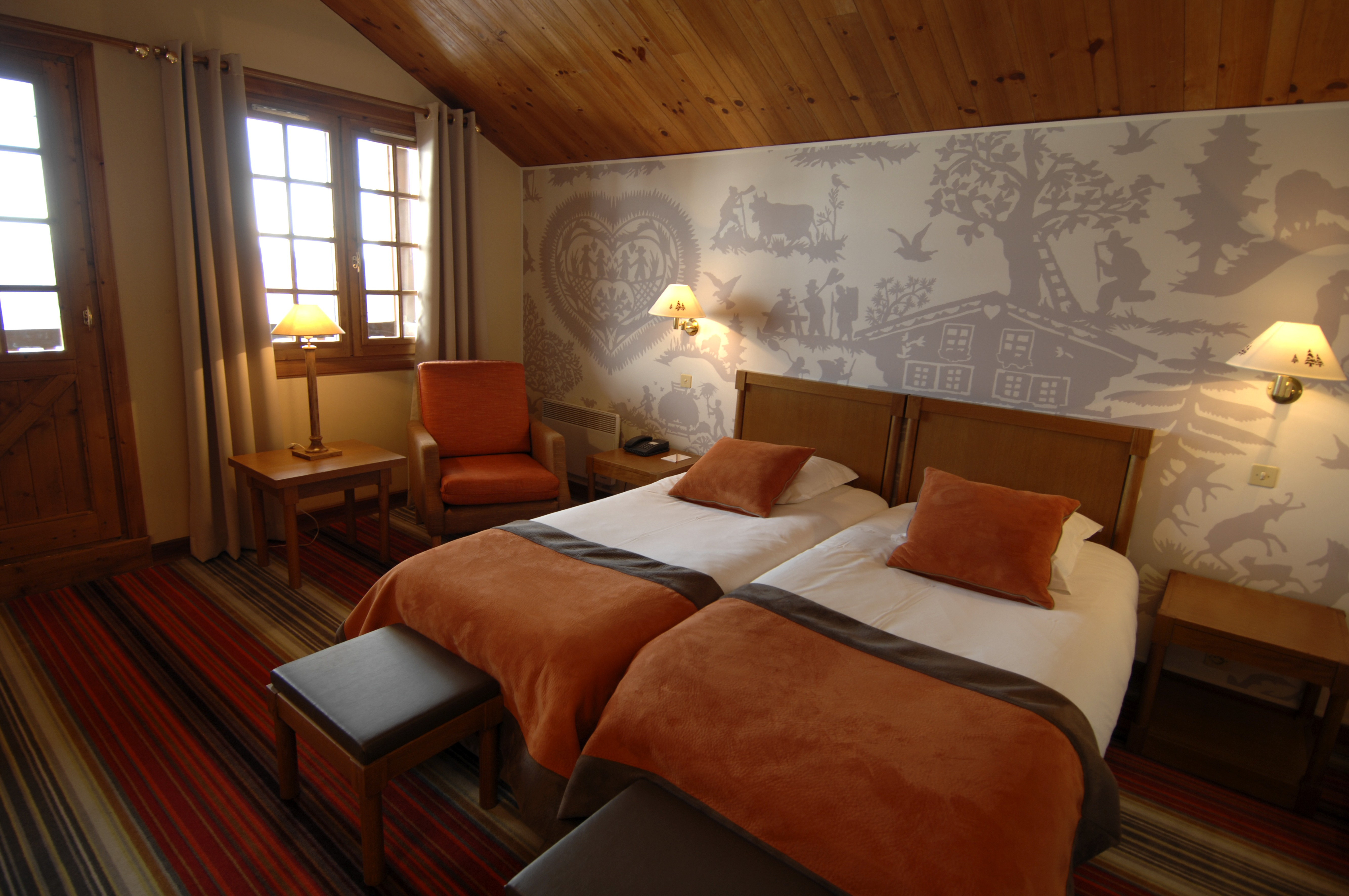 Méribel le chalet wintersport all inclusive club med