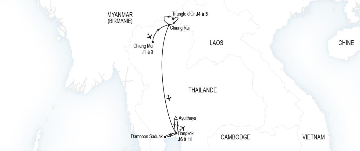 Circuit Orchidées sacrées | Thaïlande | Club Med
